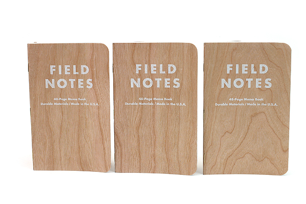 Field Notes Shelterwood Edition via JetPens