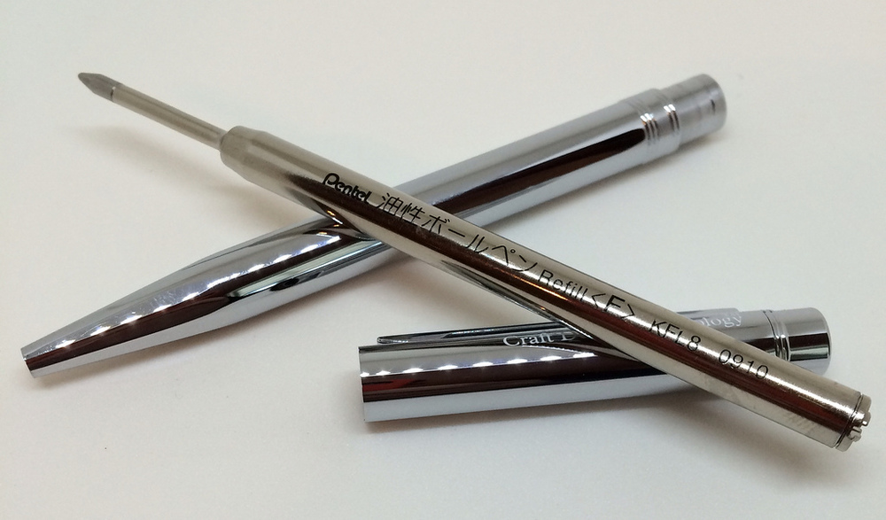 Craft Design Technology Chrome Ball Point Pen Review The Pen Addict