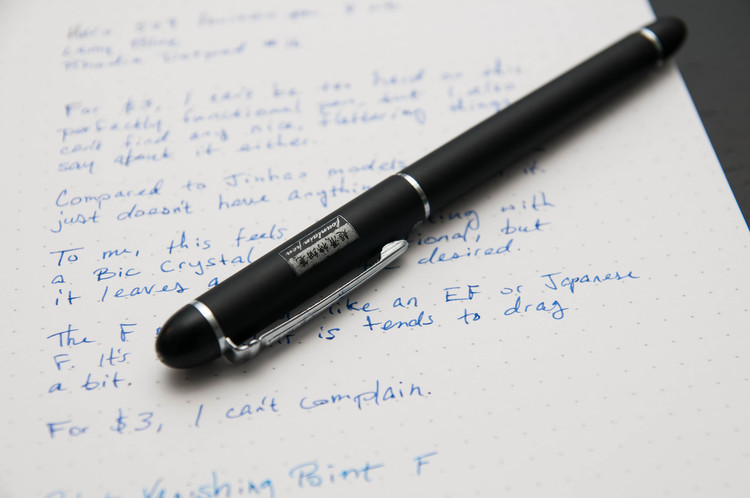 The world of inexpensive Chinese fountain pens is something I've recently  fallen into, and I've had mixed results so far. My most recent impulse buy  is a ...
