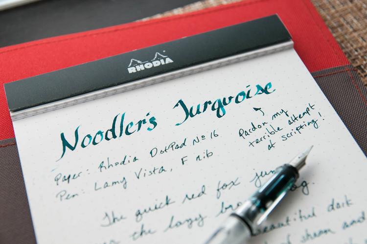 Parker Quink Black Ink Handwritten Review 100
