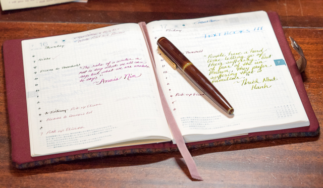 My List of the 10 Best Pens for Planners, Journals and Calendars | Thyme  is. «