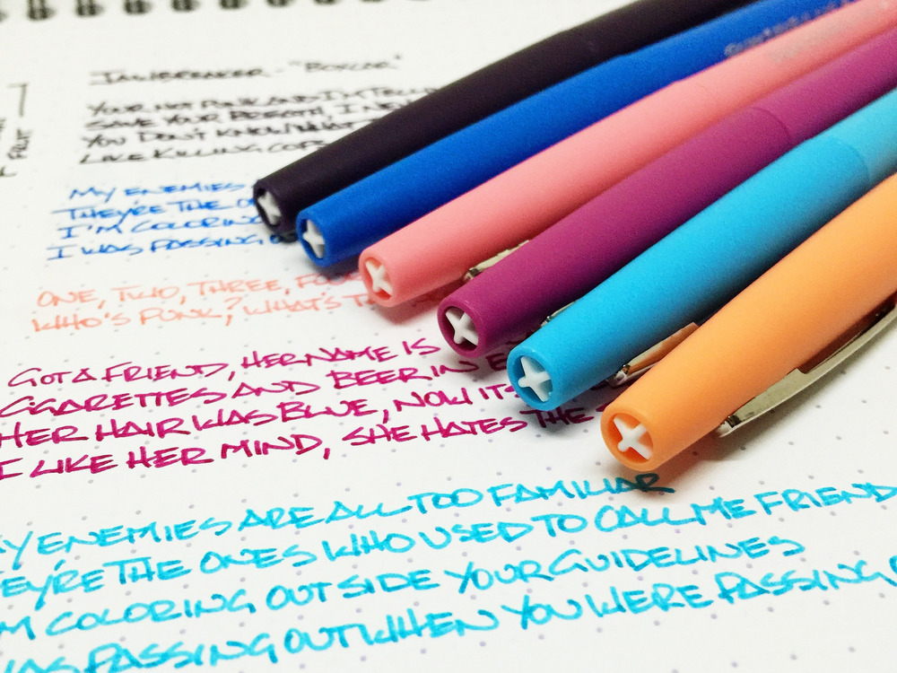 Paper Mate Flair Tropical Vacation Set Review The Pen Addict