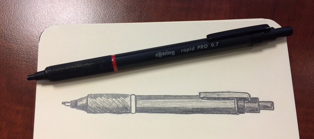 Rotring Rapid Pro Mm Drafting Pencil The Pen Addict - Drafting pencil