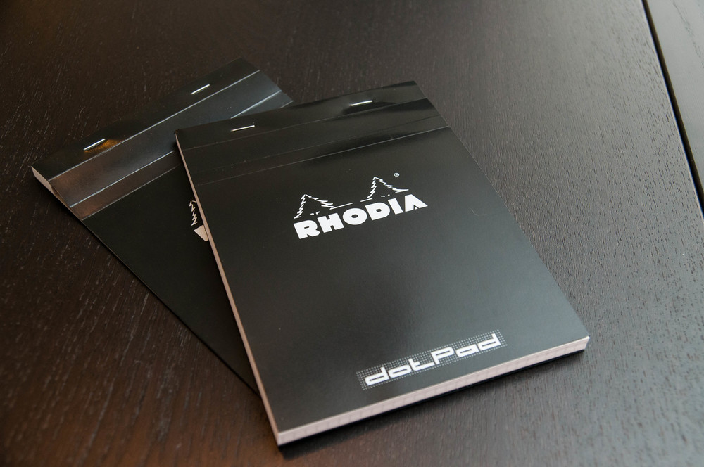 The Rhodia Dotpad Notepad Review The Pen Addict