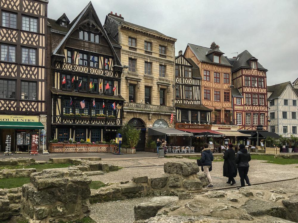 The city of Rouen