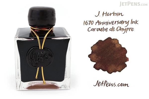 J. Herbin Caroube de Chypre, via JetPens