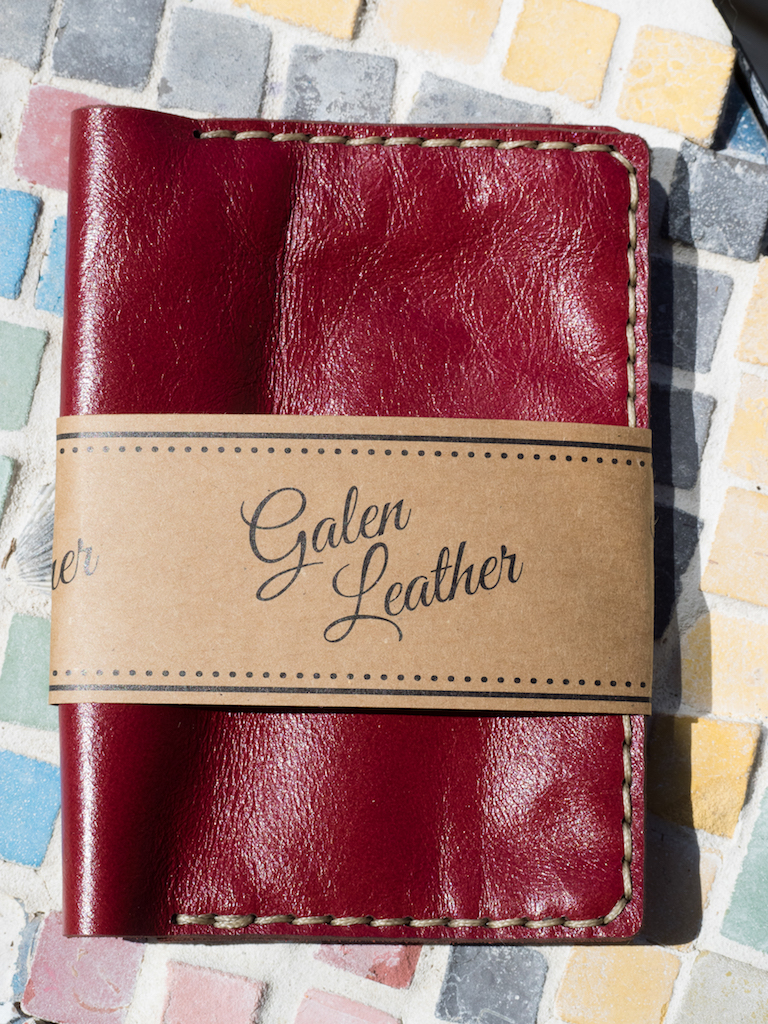 e7c4810ac73 Galen Leather Notebook Cover  A Review — The Pen Addict