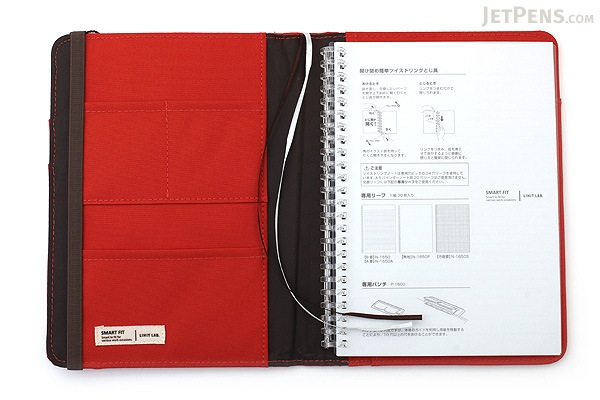 Lihit Lab Smart Fit Cover Notebook (via JetPens)