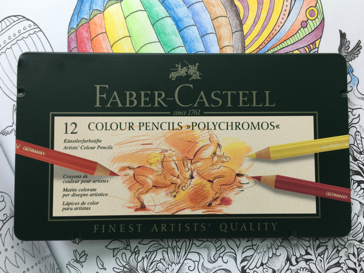 Faber-Castell Polychromos Colored Pencil Review — The Pen Addict