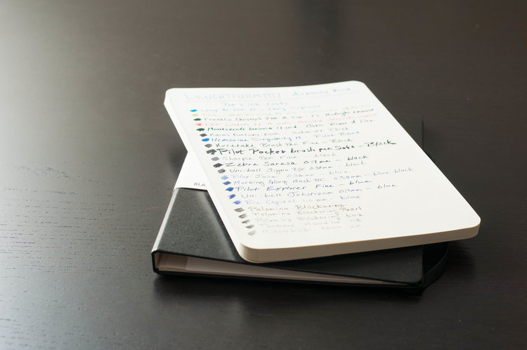 leuchtturm academy pad review the pen addict when it comes down to it i like the notebook but it also confuses me as a pad of paper it s exceptionally well made it offers a great writing
