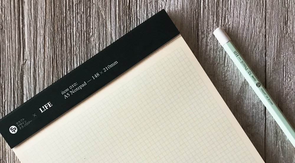 Craft Design Technology A5 Notepad Review The Pen Addict