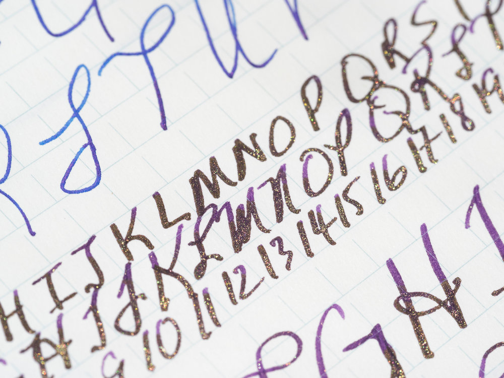 Diamine Purple Pazzazz ink