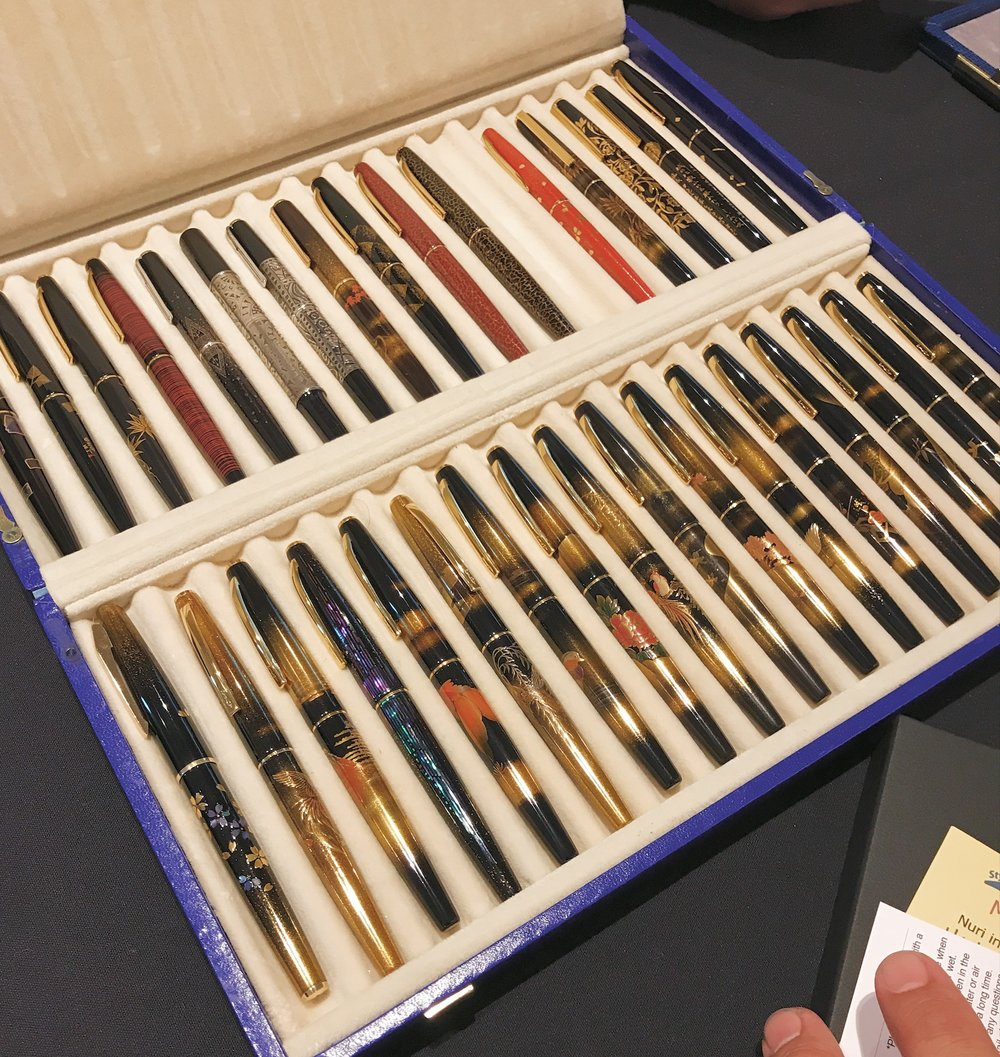 The pen tray of dreams...