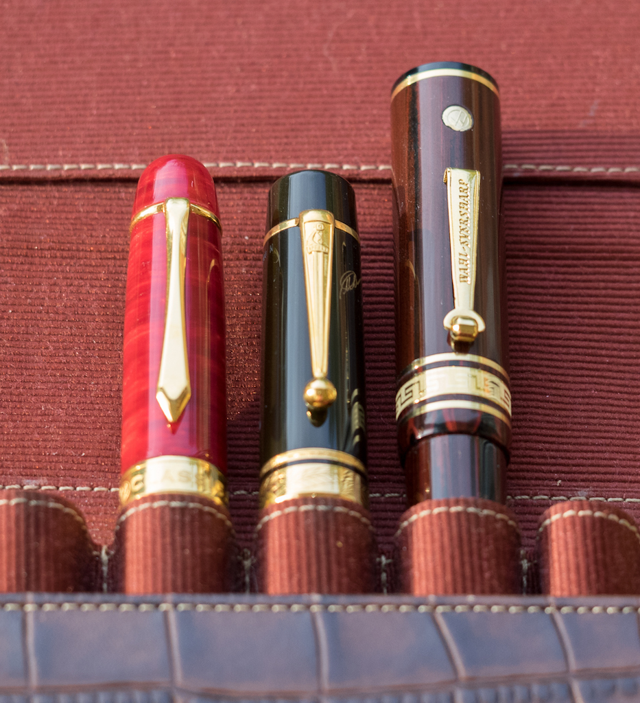 The LM1, Dumas, and Wahl-Eversharp do not fit in the F-C Case