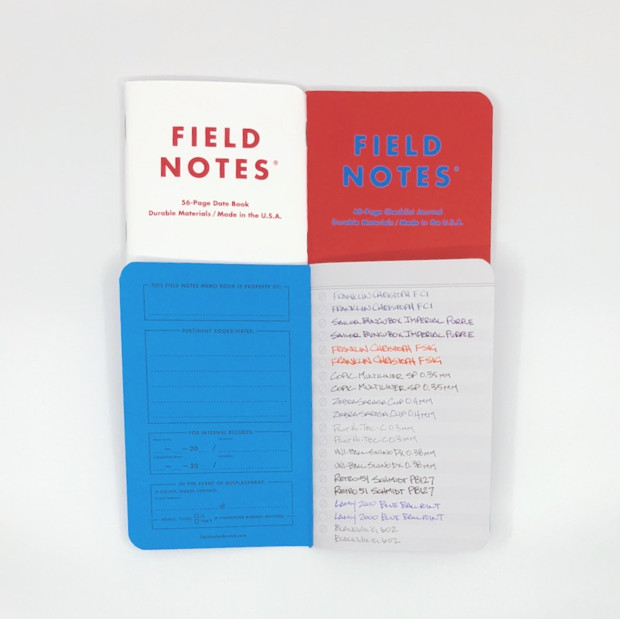 Field Notes Resolution Edition