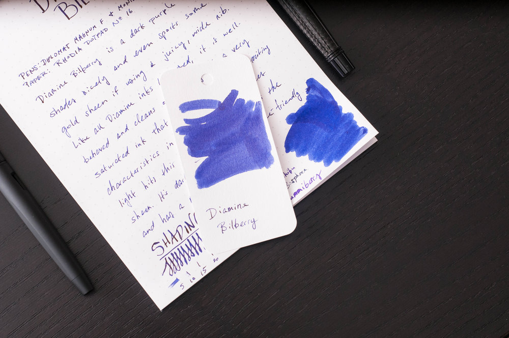 Diamine Bilberry Sample