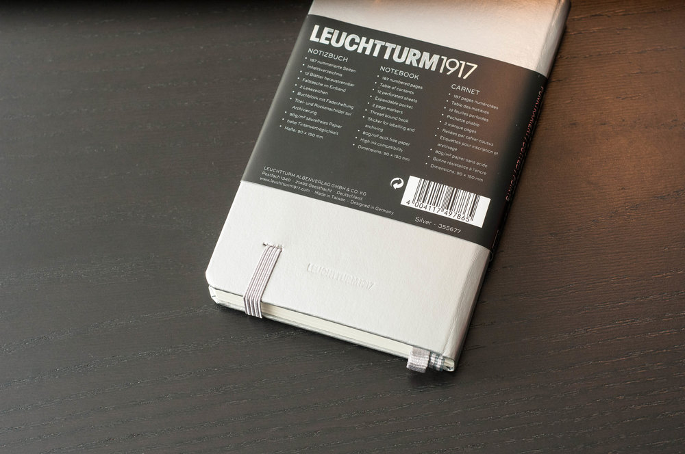 Leuchtturm1917 Back Cover