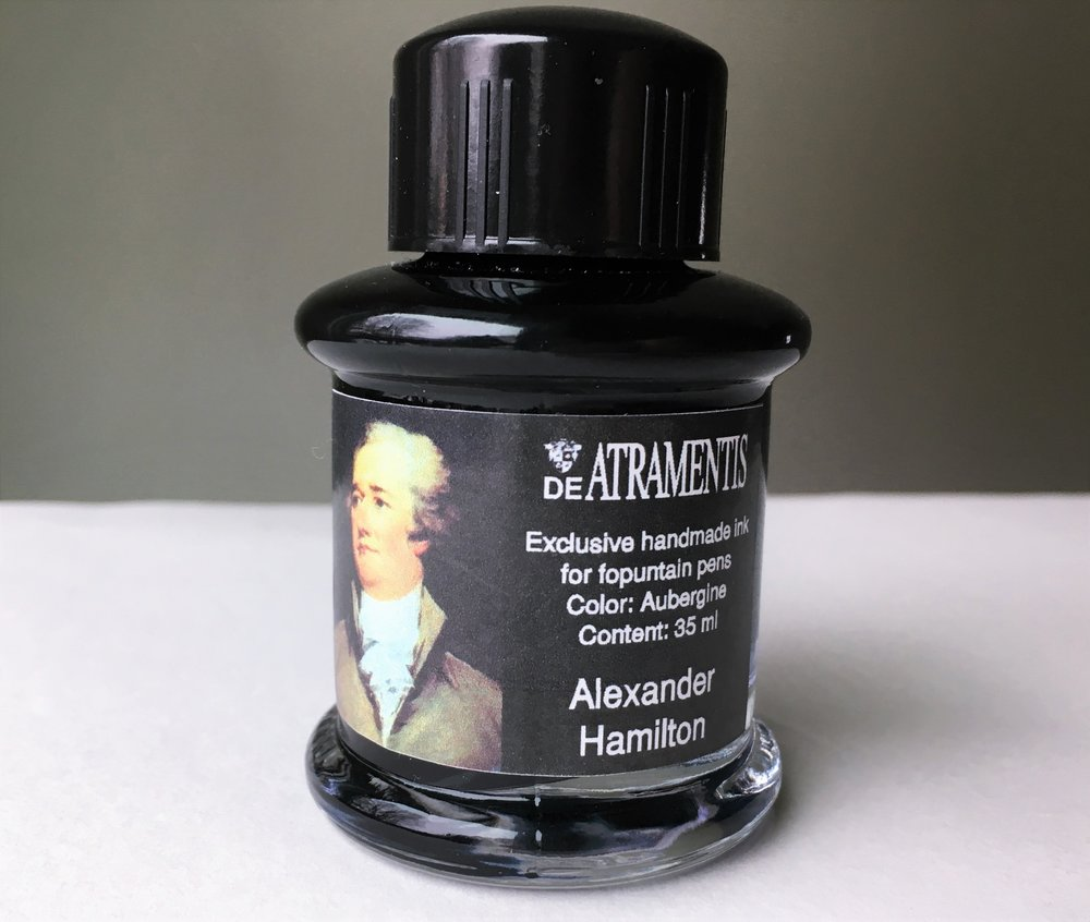 Alexander Hamilton Ink Bottle