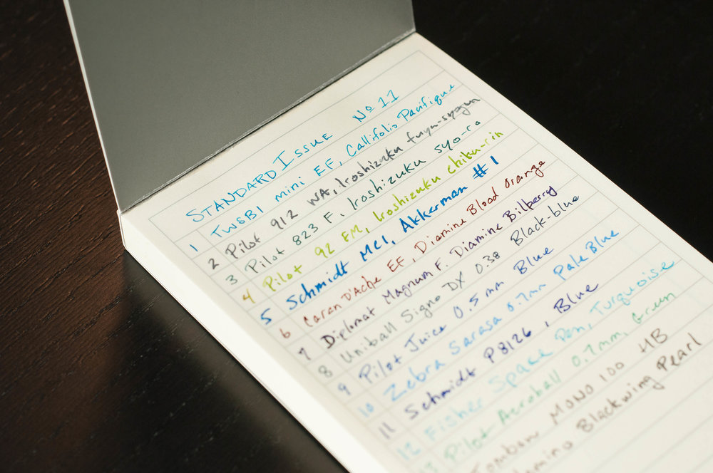 DesignWorks Note Pad Writing