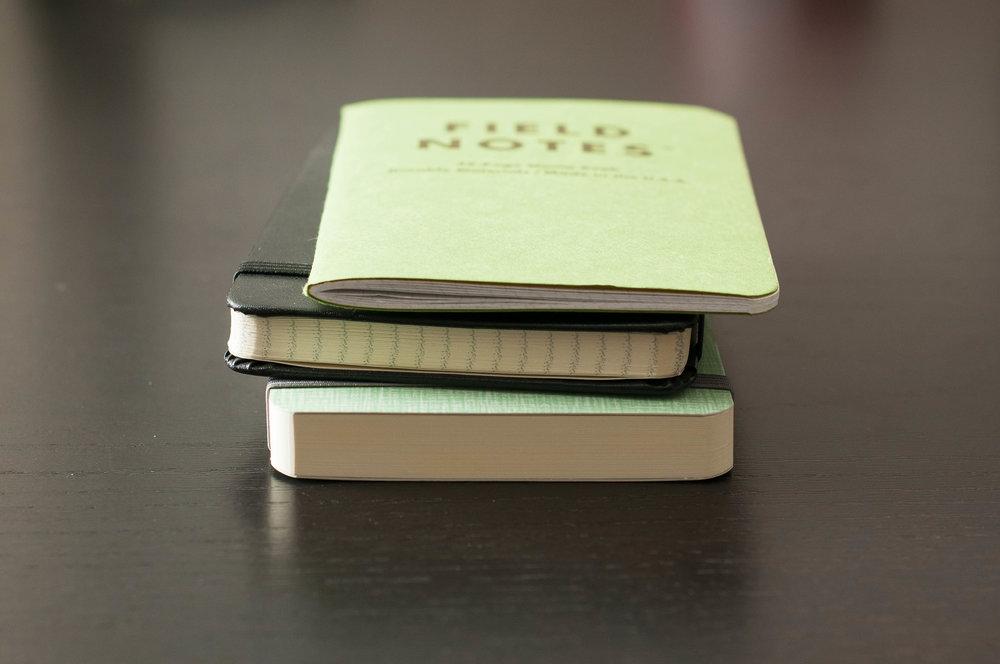 DesignWorks Note Pad Comparison
