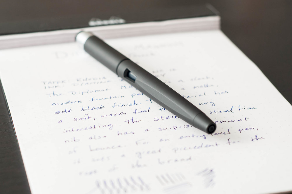 Diplomat Magnum SoftTouch Fountain Pen Review