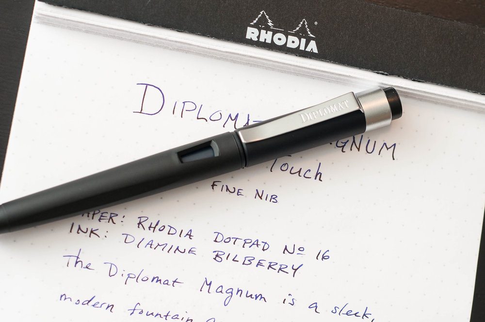 Diplomat Magnum Fountain Pen Clip