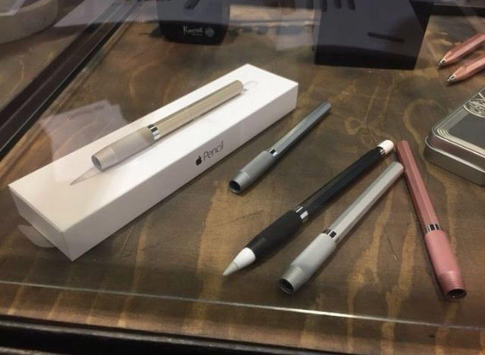 Spy shot: Kaweco Apple Pencil holder?
