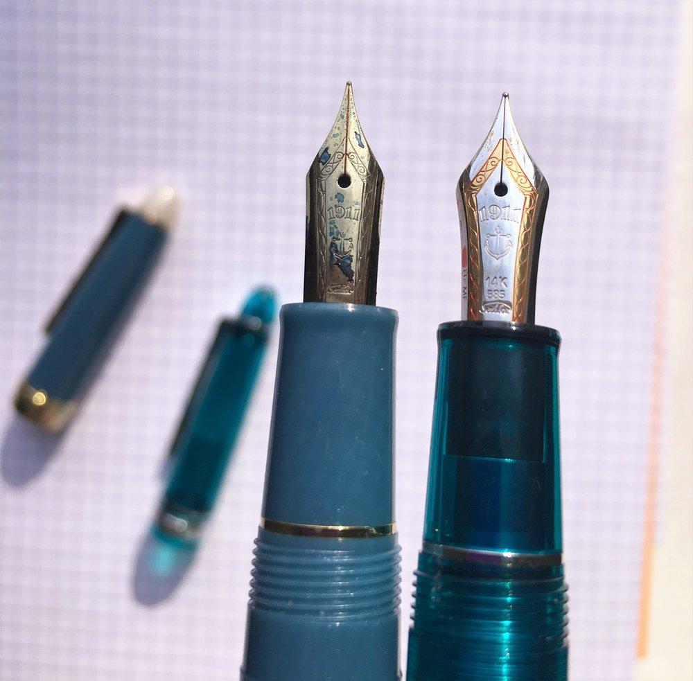 Sailor Shikiori Fountain Pen Comparison