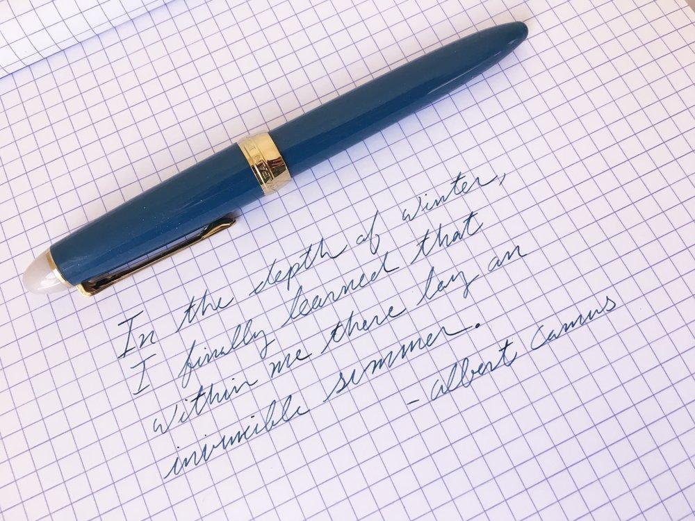 Sailor Shikiori Fountain Pen Review