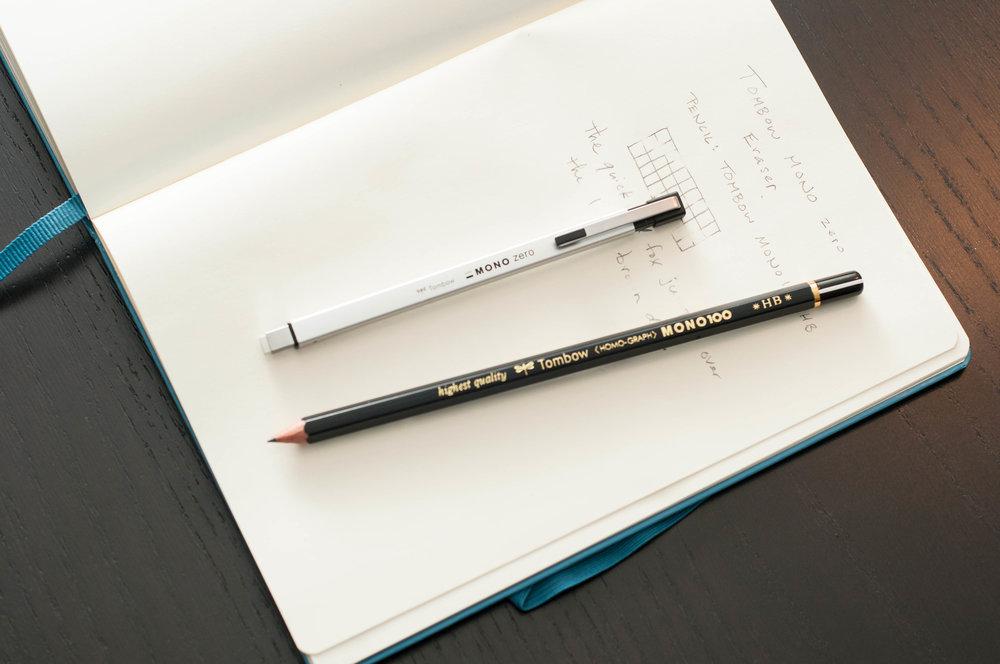 Tombow Mono Zero Eraser Pencil