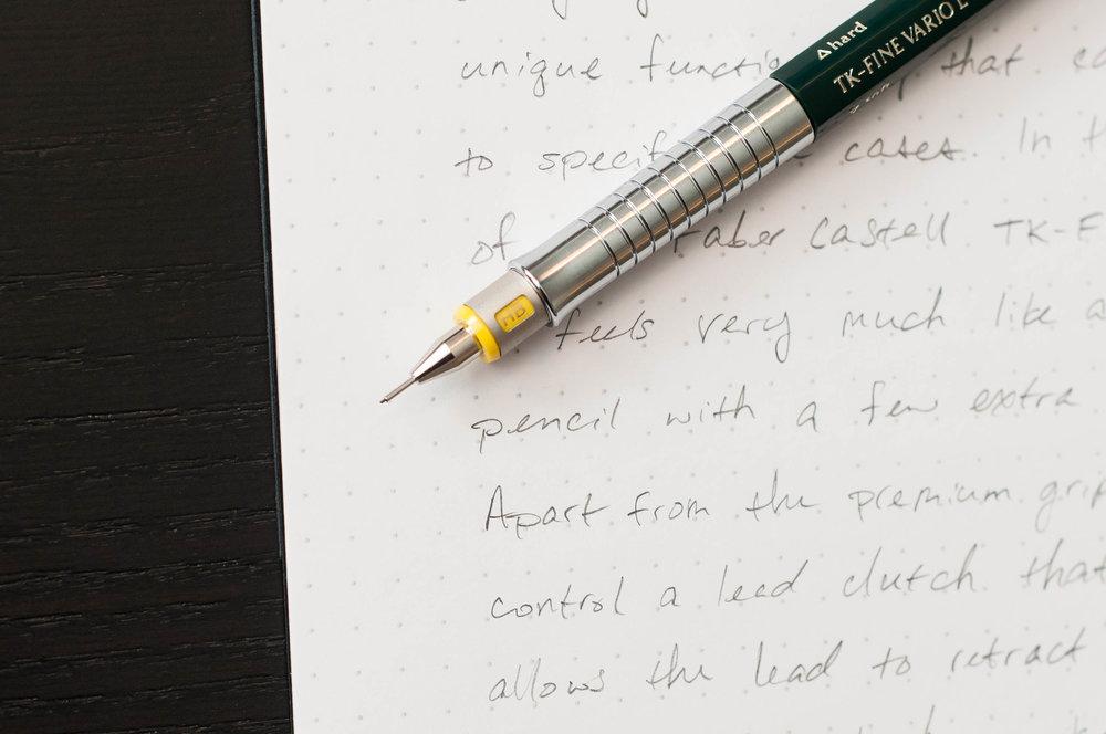 Faber-Castell TK-Fine Vario L Pencil Grade