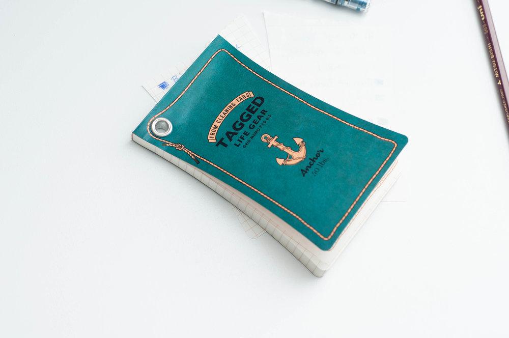 Hi Mojimoji Tagged Life Gear Memo Pad Cover