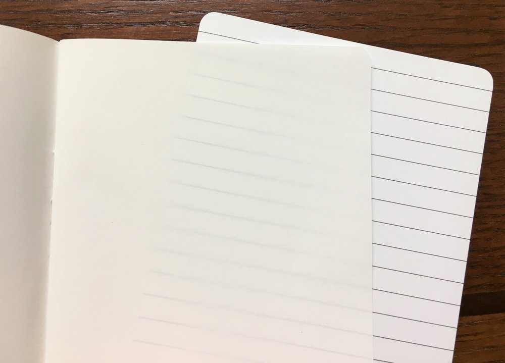 JetPens Tomoe River Kanso Sasshi Booklet Inside