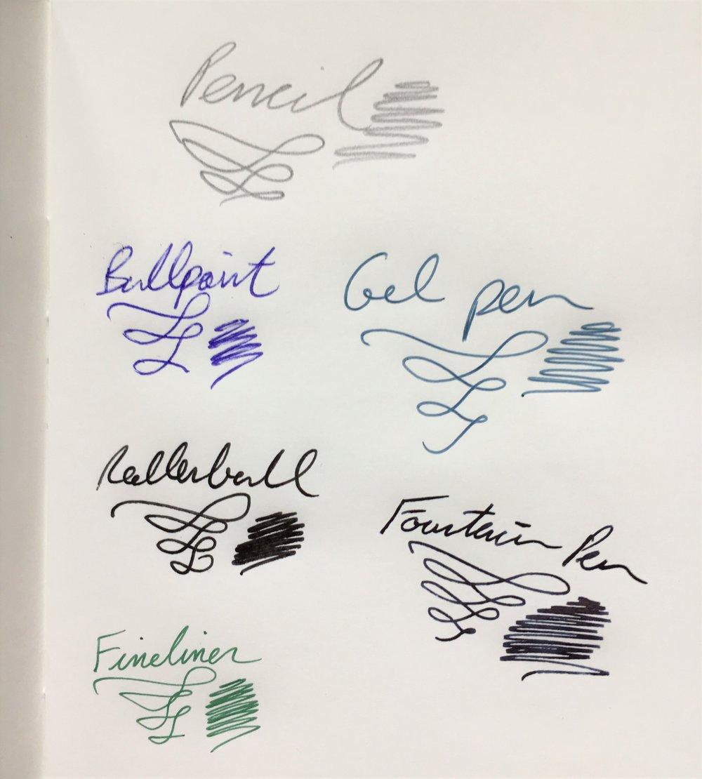 JetPens Tomoe River Kanso Sasshi Booklet Writing