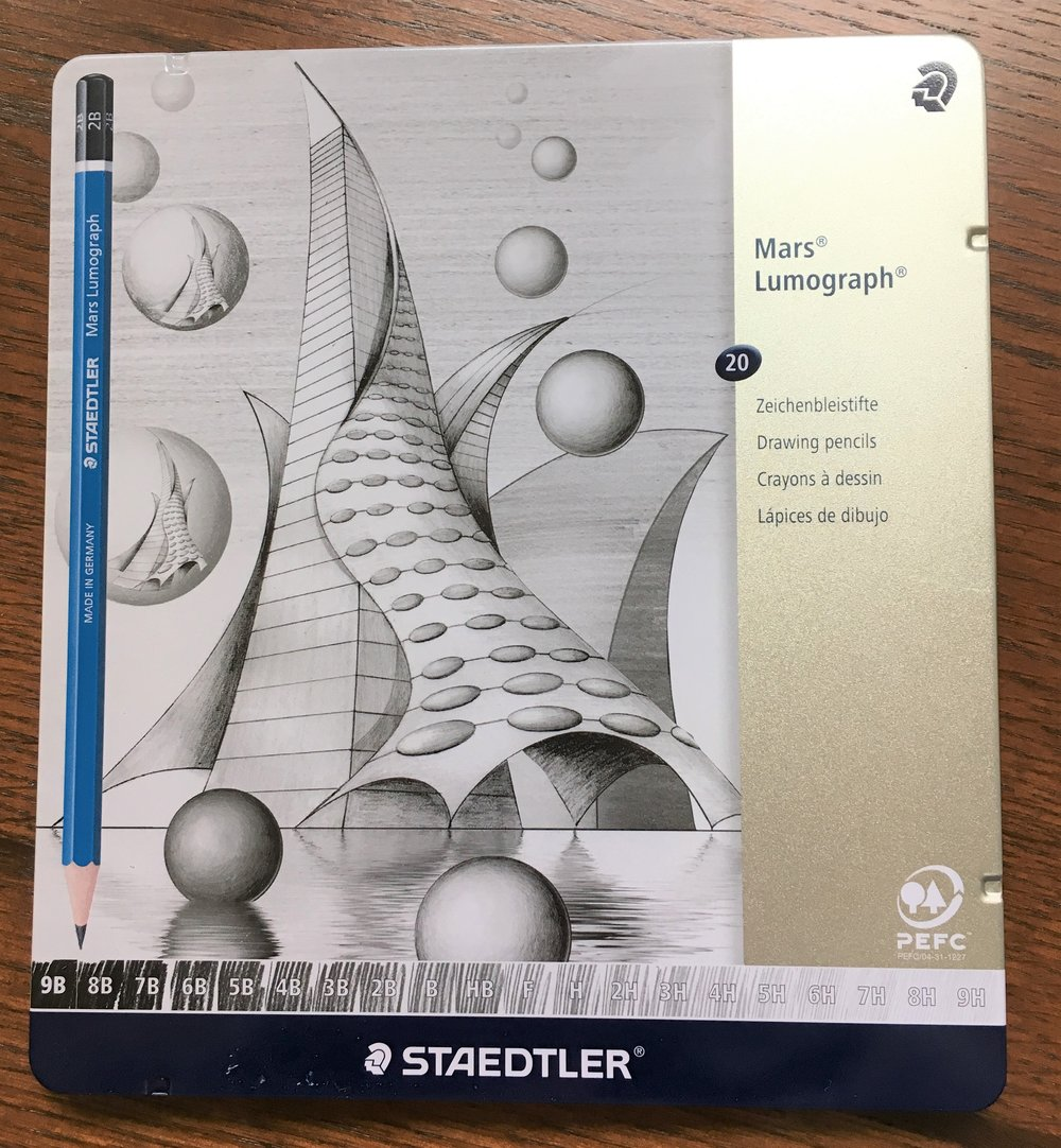 Staedtler Mars Lumograph Pencil Review