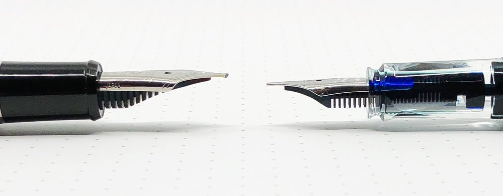 Architect Nib vs Stub Nib