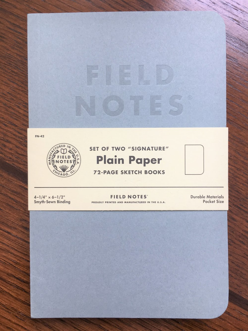 Field Notes Signature Sketch Book Review