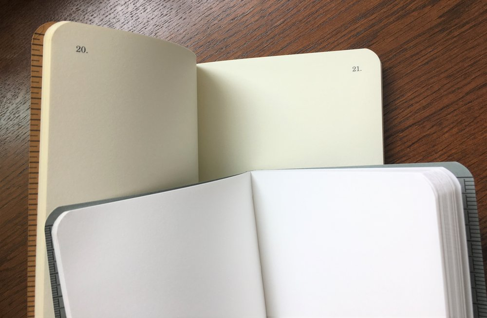 Field Notes Signature Sketch Book vs Dime Novel