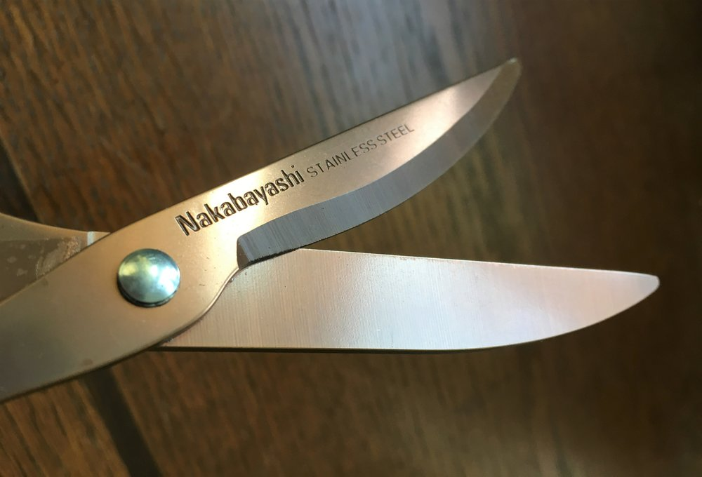 Nakabayashi Hikigiri Slim Scissors Sharp