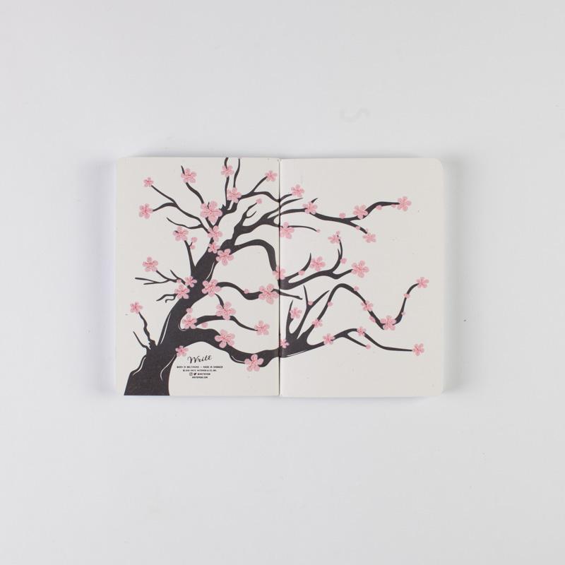 Sakura . Image via Write Notepads.