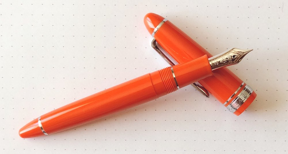Sailor 1911 Royal Tangerine Review