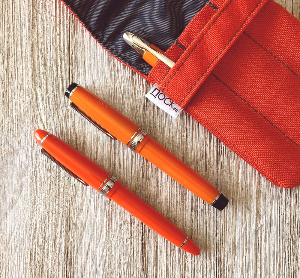 Sailor 1911 Royal Tangerine Nock