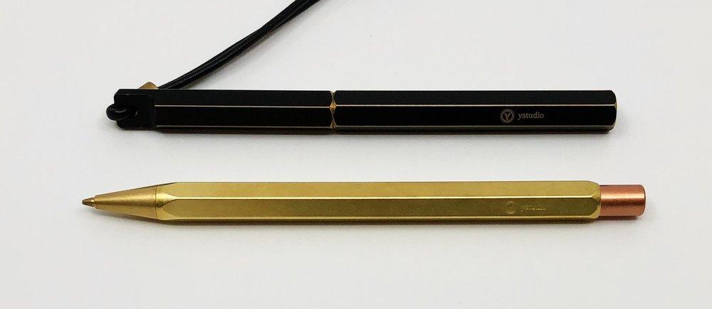 Ystudio pen and pencil