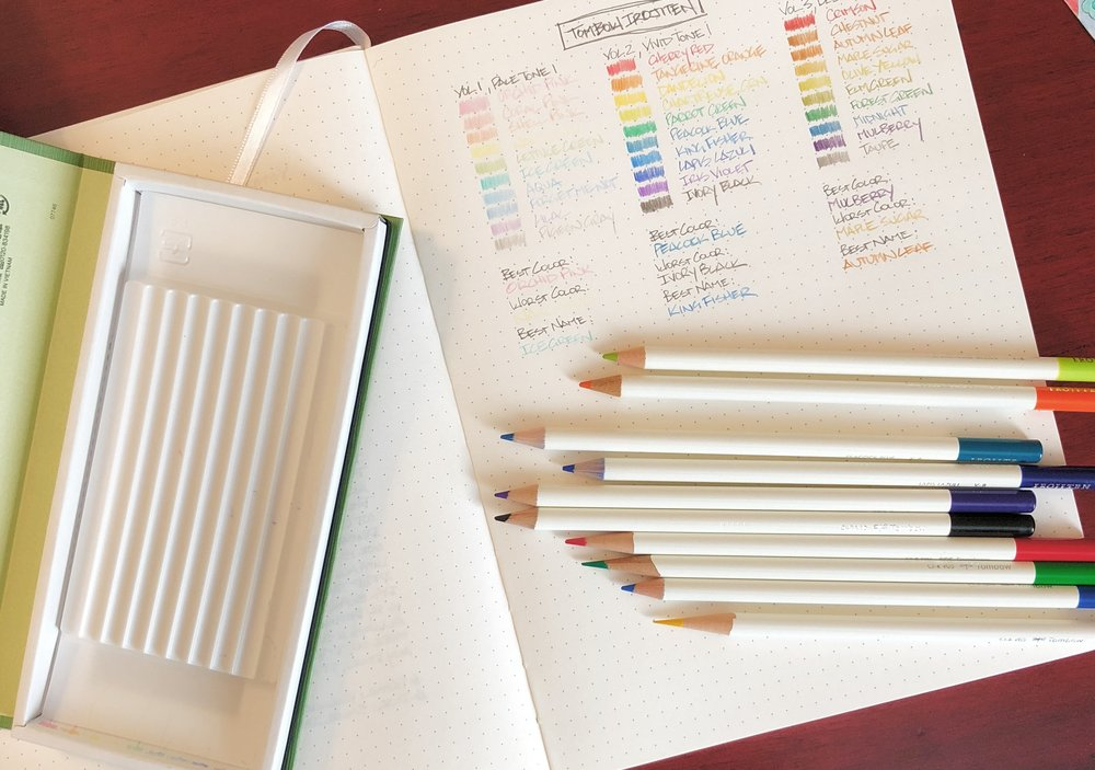 Tombow Irojiten Color Dictionary Color Pencils