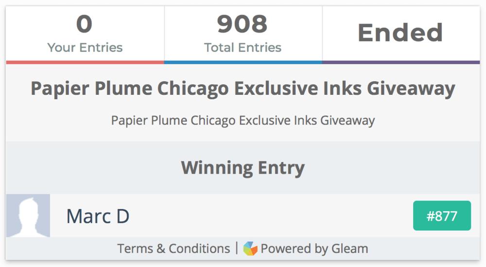 Papier Plume Ink