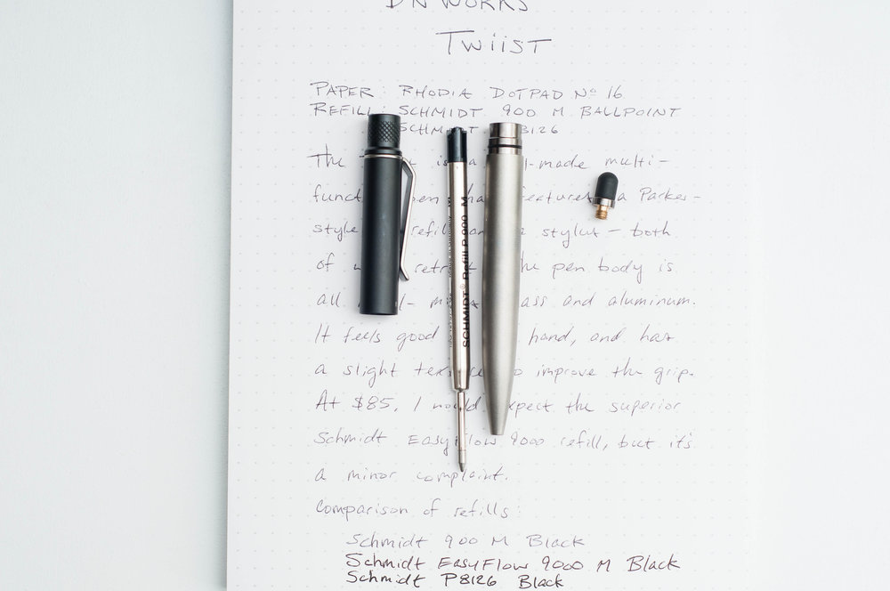 BN Works Twiist 2-in-1 Pen Open