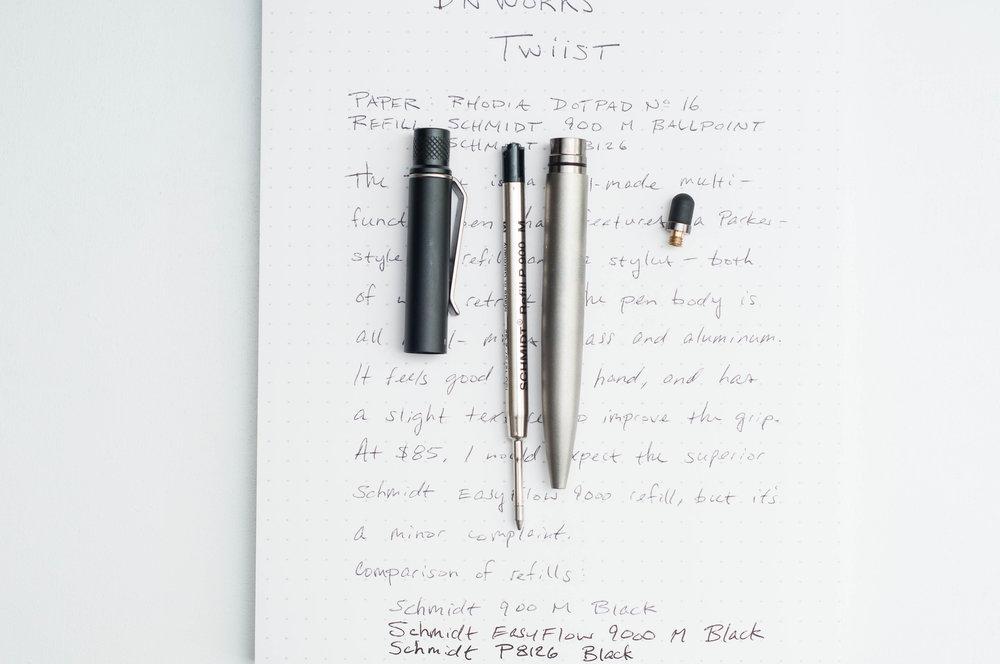 BN Works Twiist 2-in-1 Pen Open