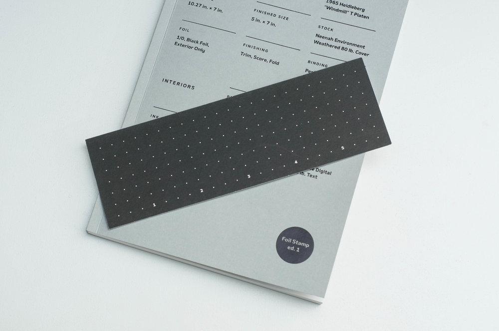 Print Prologue Notebook Ruler