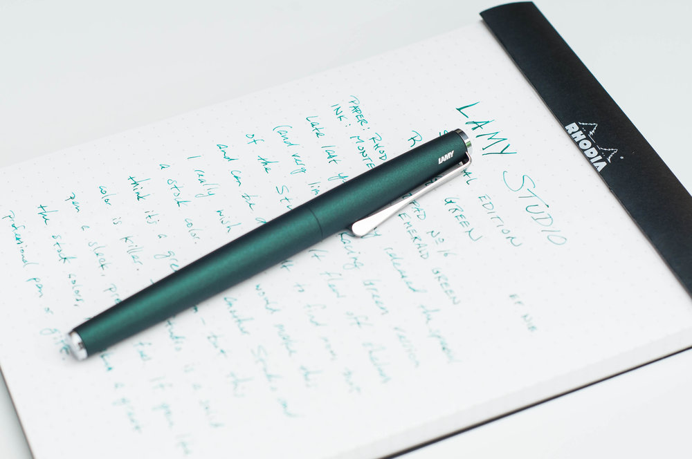 Lamy Studio Racing Green