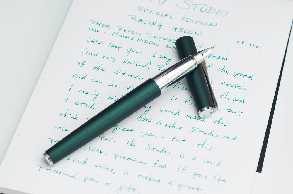 Lamy Studio Racing Green Review